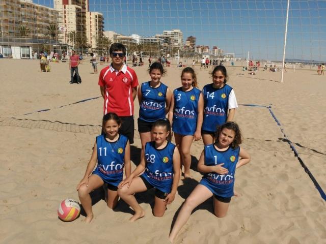 Escuela deportiva Voley Playa Oliva
