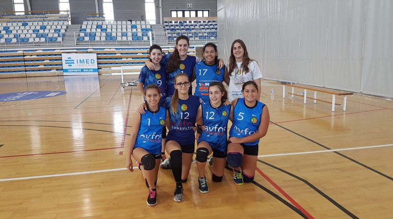 Equipo cadete zonal C.V Oliva Roig