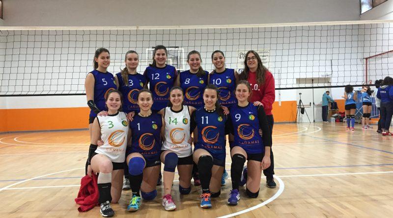Equipo Juvenil femenino Cañamás Volei Oliva