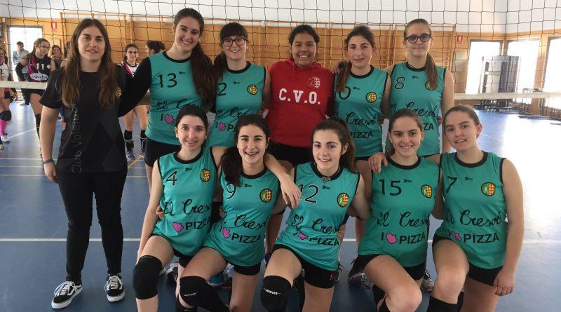Equipo cadete zonal CV Oliva Roig