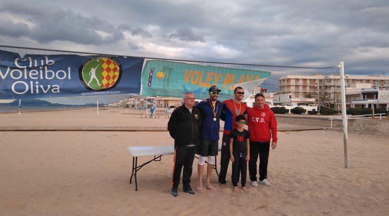 La 5ª Prueba de playa invierno es para la pareja Huesca-Tovar
