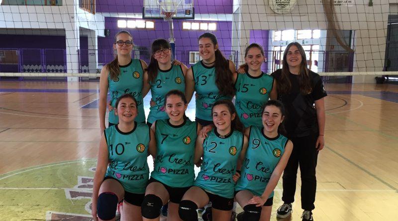 Equipo cadete femenino CV Oliva Roig.