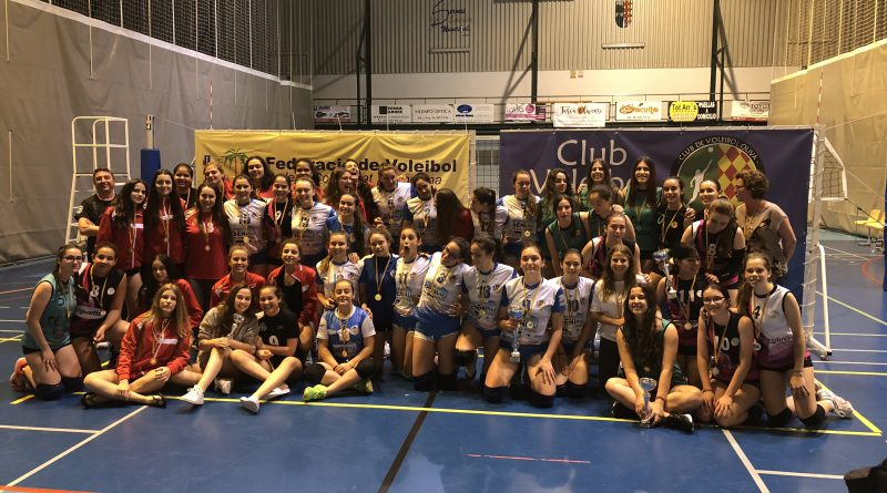 Conclou la Copa Preferent Cadet Femení 2018 amb la victòria del C.V. Playas Benidorm A.