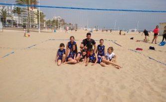 El benjamí Cañamás Oliva guanya en platja
