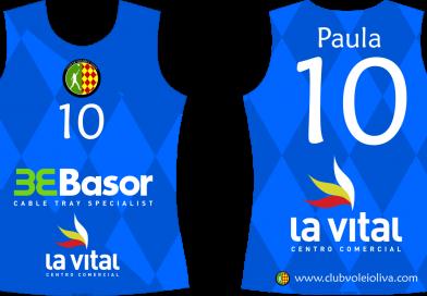 Equipación Alevín Club Voleibol Oliva