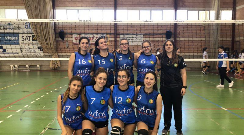 Equipo cadete zonal femenino CV Oliva Blau