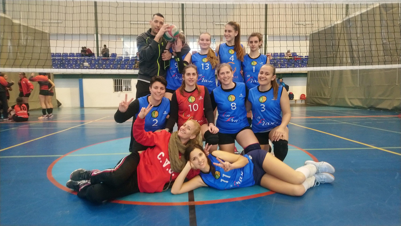 Plantilla del Ca Fran Voleibol Oliva