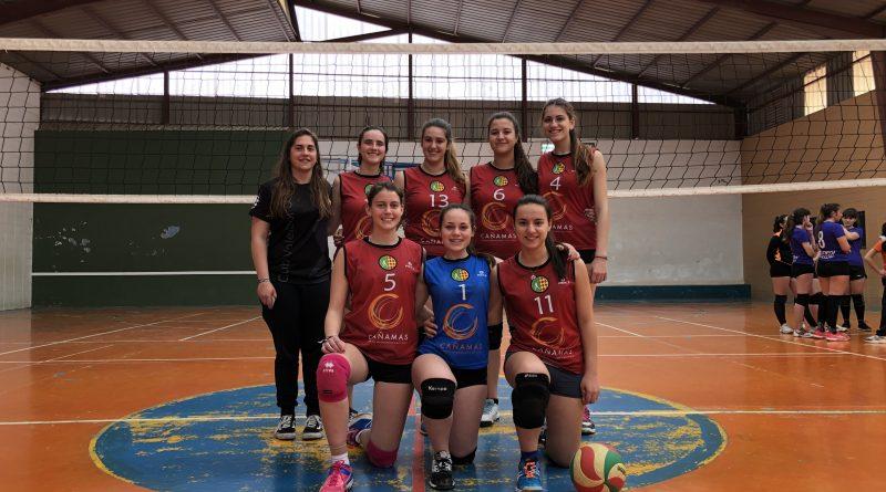 Equipo juvenil femenino Cañamás Oliva