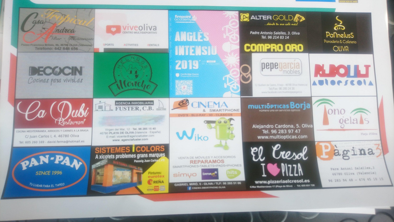 Patrocinadores cartel Fase Ascenso