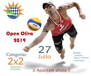 Open Oliva. El torneo de voley playa 2×2 que no te puedes perder.